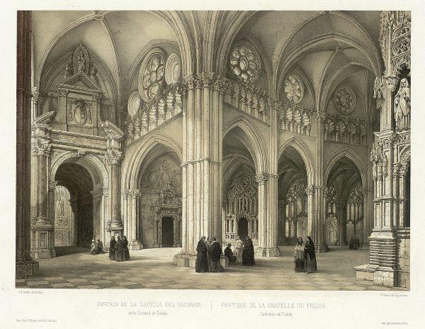 18_Portada de la Capilla del Sagrario de la Catedral de Toledo