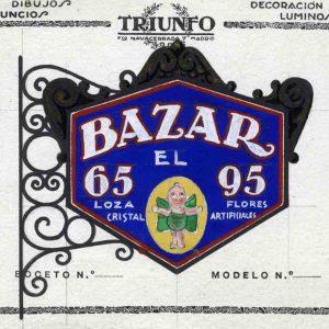 e escaparates por Toledo, 1983 y 2018. Imágenes de sus comercios e industrias