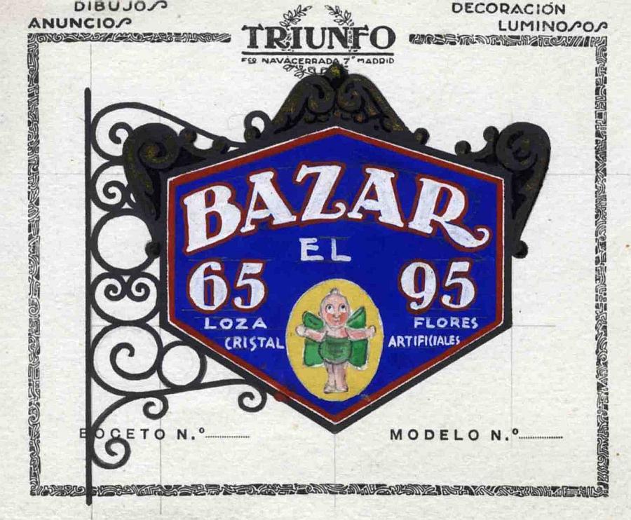 http://www.toledo.es/wp-content/uploads/2018/10/1929-bazar-el-angel-esquina-de-la-calle-sierpe-con-la-bajada-al-corral-de-d.-diego-eusebio-repino.jpg. De escaparates por Toledo, 1983 y 2018. Imágenes de sus comercios e industrias
