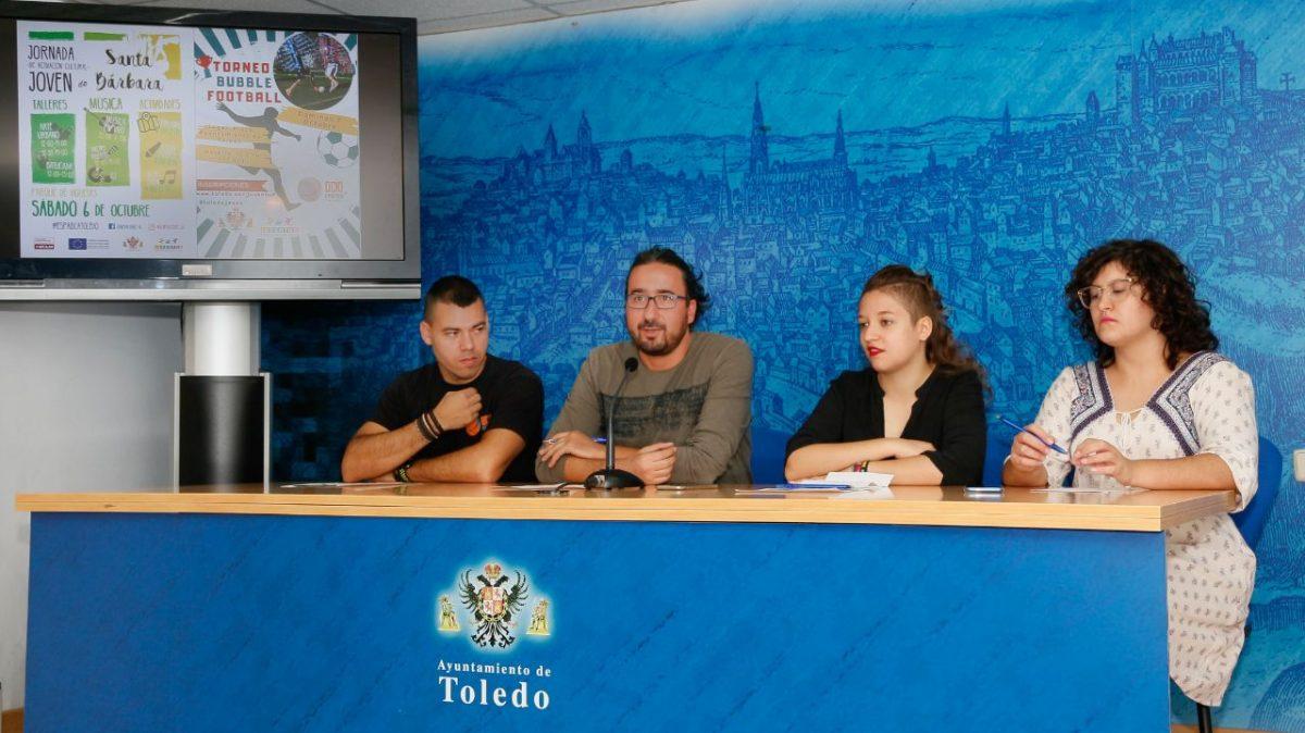 http://www.toledo.es/wp-content/uploads/2018/10/20181001_semana-de-la-juventud-1200x674.jpg. La Semana de la Juventud llega a su recta final con la I Jornada de Activación Joven en Santa Bárbara y la actividad 'Bubble Football'