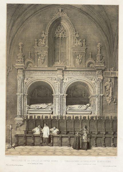 20_Sepulcros de la Capilla de Reyes Nuevos en la Catedral de Toledo