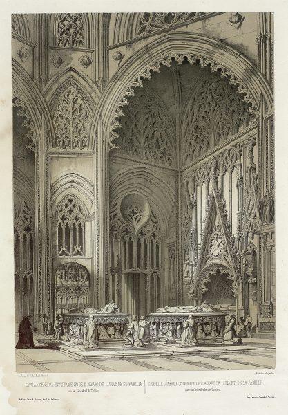 21_Capilla general, enterramiento de D. Álvaro de Luna y de su familia, en la Catedral de Toledo