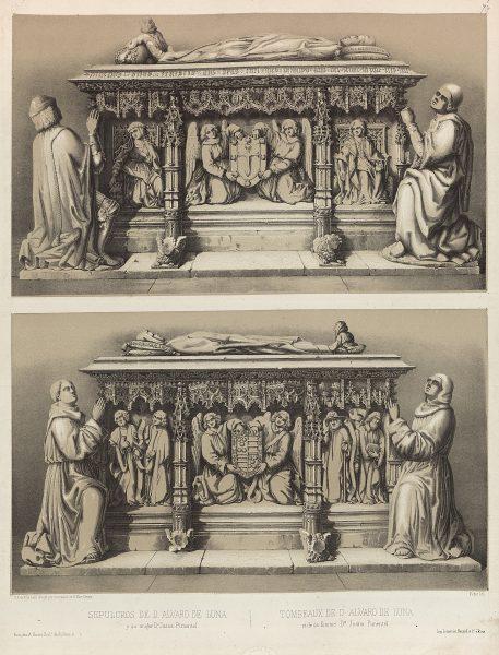 22_Sepulcros de D. Álvaro de Luna y su mujer Dª Juana Pimentel