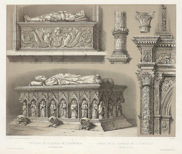 24_Detalles de la Capilla de San Ildefonso en la Catedral de Toledo