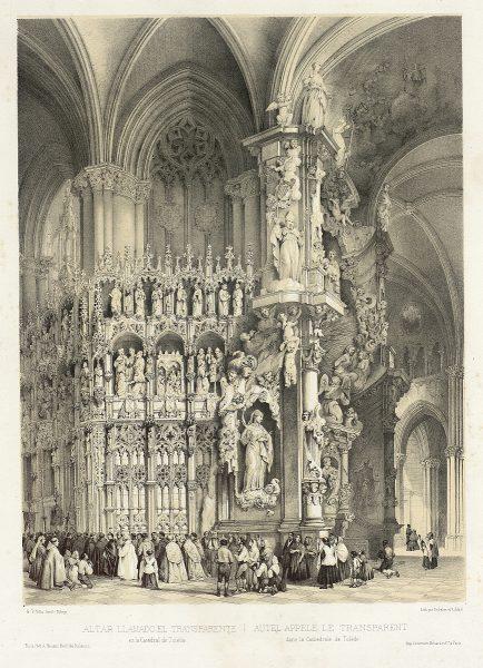 25_Altar llamado el Transparente en la Catedral de Toledo