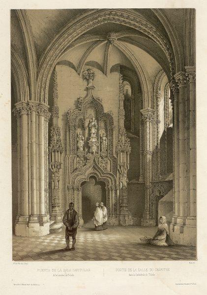 26_Puerta de la Sala Capitular de la Catedral de Toledo