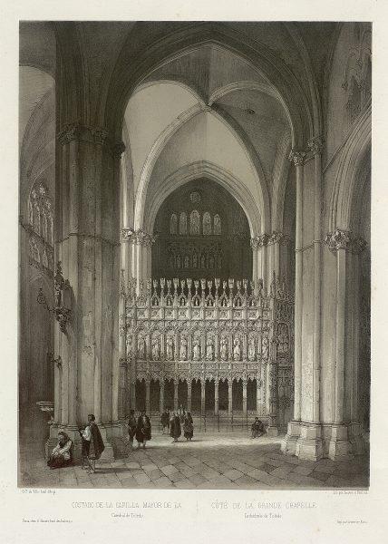 27_Costado de la Capilla Mayor de la Catedral de Toledo
