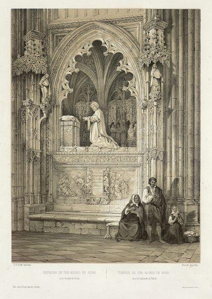 30_Sepulcro de don Alonso de Rojas en la Catedral de Toledo