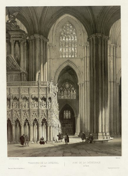 31_Trascoro de la Catedral de Toledo