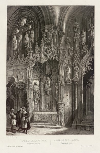 33_Capilla de la Antigua en la Catedral de Toledo