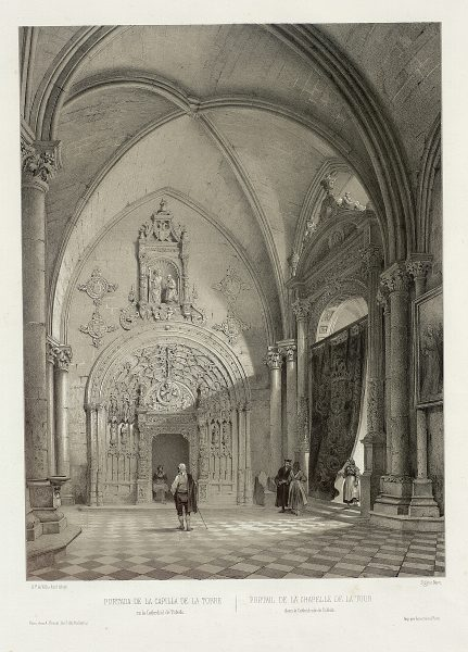 34_Portada de la Capilla de la Torre en la Catedral de Toledo
