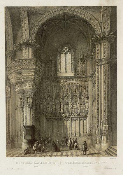 36_Interior de San Juan de los Reyes en Toledo