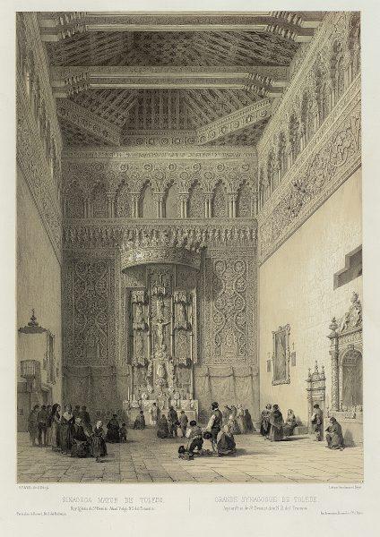 37_Sinagoga mayor de Toledo, hoy Iglesia de San Benito Abad, vulgo Nuestra Señora del Tránsito