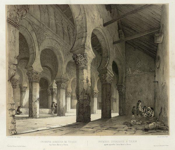 38_Primera Sinagoga de Toledo, hoy Santa María la Blanca