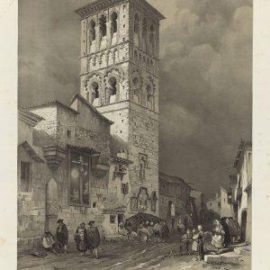 40 - Toledo en los grabados de Genaro Pérez Villaamil (1842-1850)
