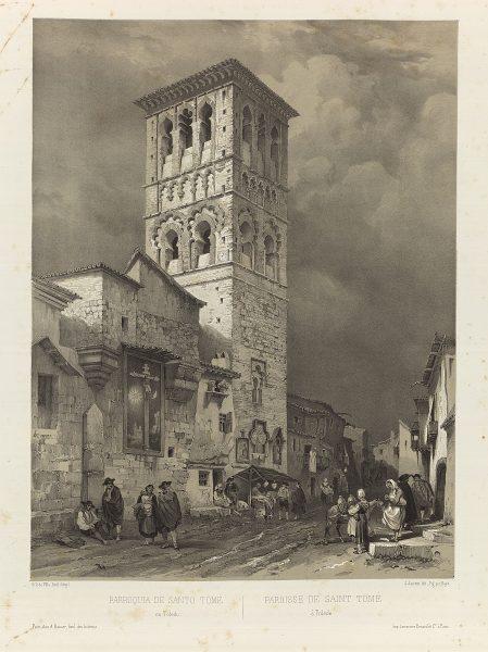 40 – Toledo en los grabados de Genaro Pérez Villaamil (1842-1850)
