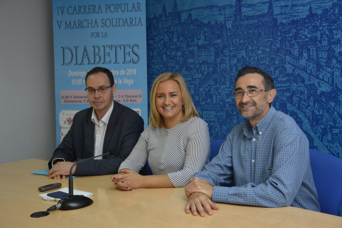 El Ayuntamiento respalda el Día Mundial de la Diabetes con la iluminación de edificios, pruebas deportivas y controles de glucemia