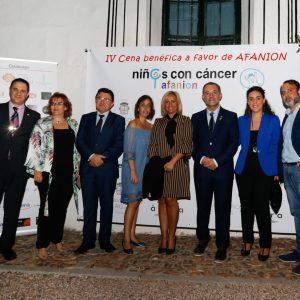 Miembros del Gobierno local acompañan a Afanion en su IV Cena Benéfica a favor de las Familias de Niños con Cáncer
