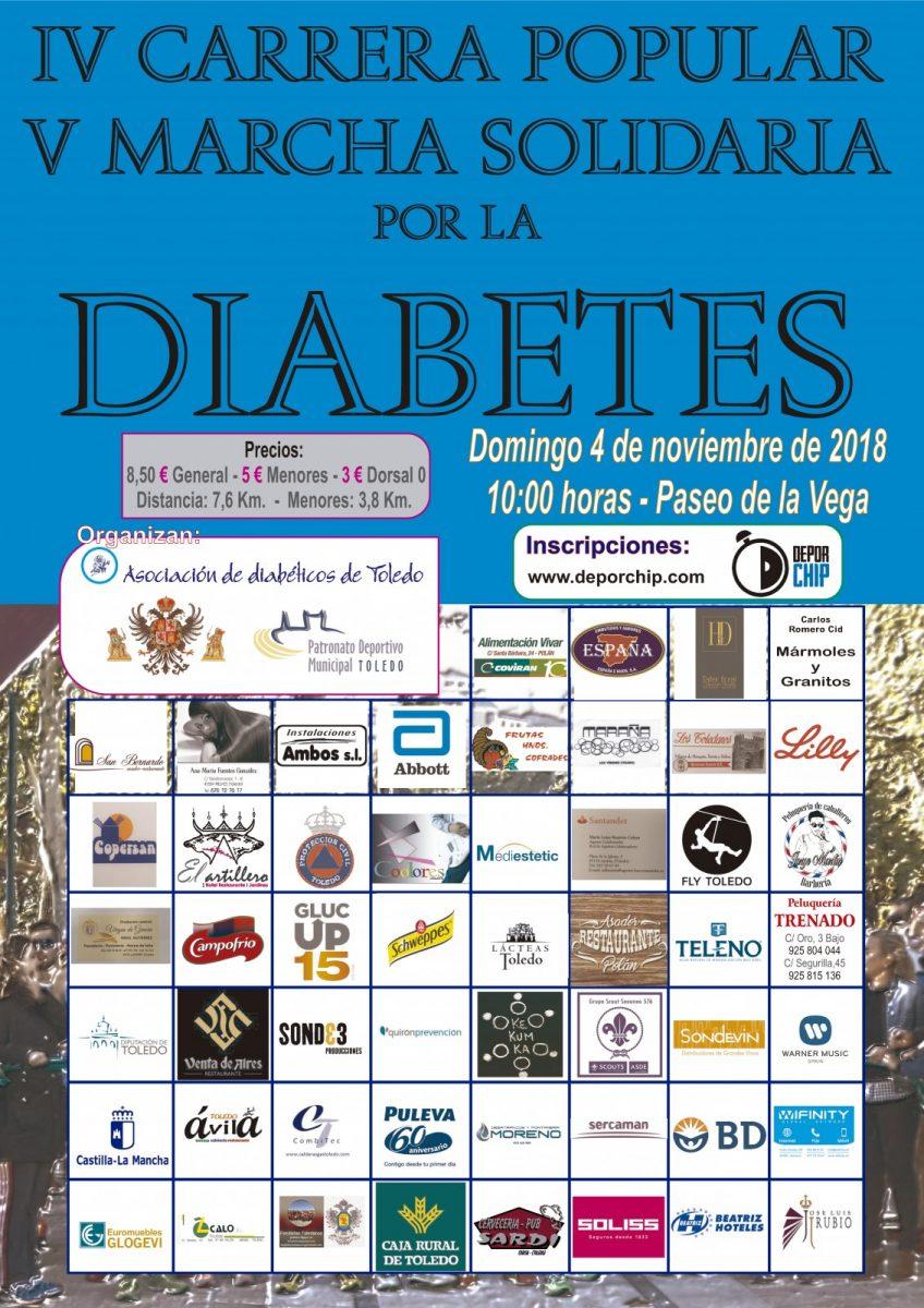IV Carrera Popular y V Marcha por la Diabetes