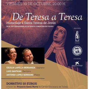 """Concierto """"De Teresa a Teresa"""""""