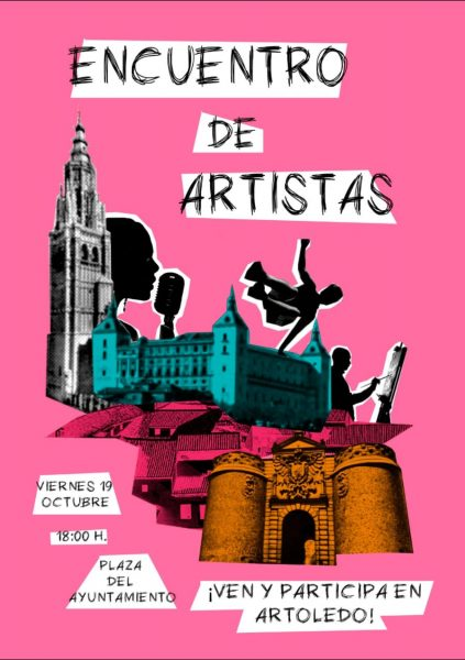 Cartel Encuentro de ARtistas 19 octubre