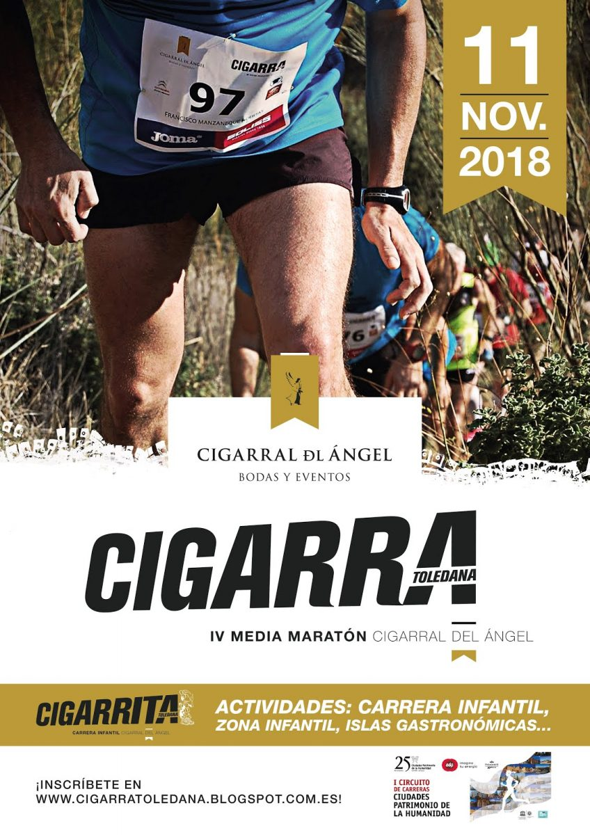 IV Media Maratón Cigarral Del Ángel Cigarra Toledana