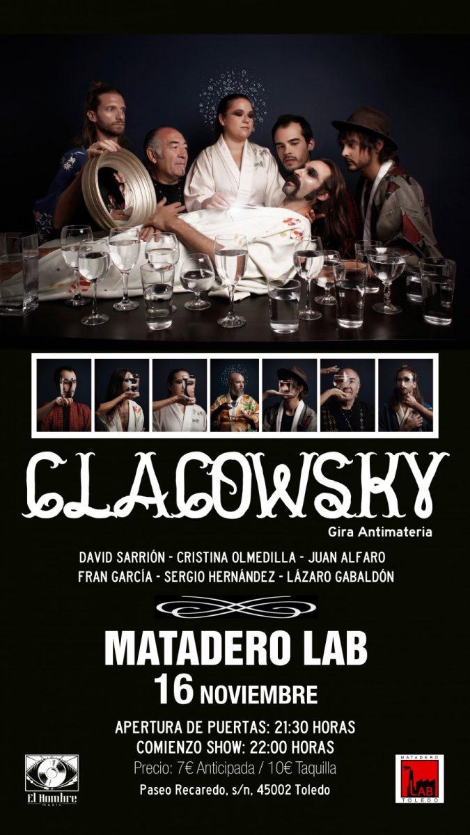 https://www.toledo.es/wp-content/uploads/2018/10/clacowsky-toledo-675x1200.jpg. Concierto CLACOWSKY