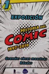 """Exposición """"Historia del cómica 1897-2018"""""""