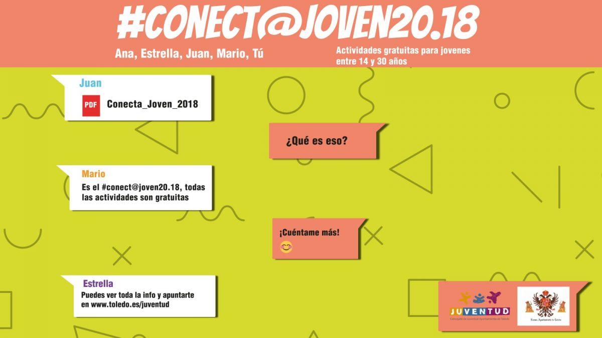 Programación de Noviembre  CONECT@ JOVEN 20.18