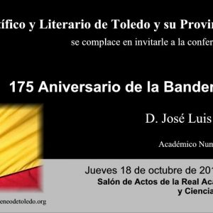 """Conferencia """"175 Aniversario de la Bandera Española"""""""