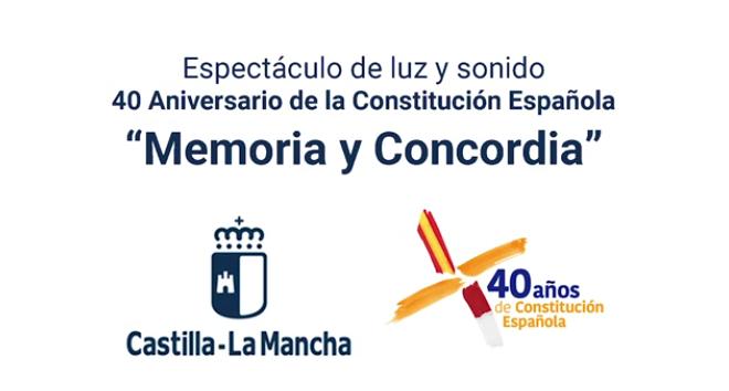 Espectáculo de luz y sonido 'Memoria y Concordia'