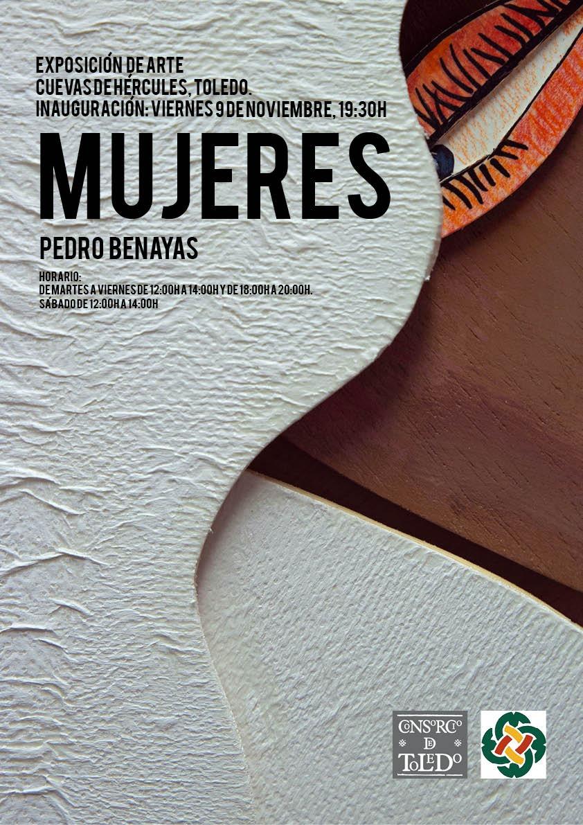 """https://www.toledo.es/wp-content/uploads/2018/10/cuevas-de-hercules.jpg. Presentación Exposición """"Mujeres"""", de Pedro Benayas"""