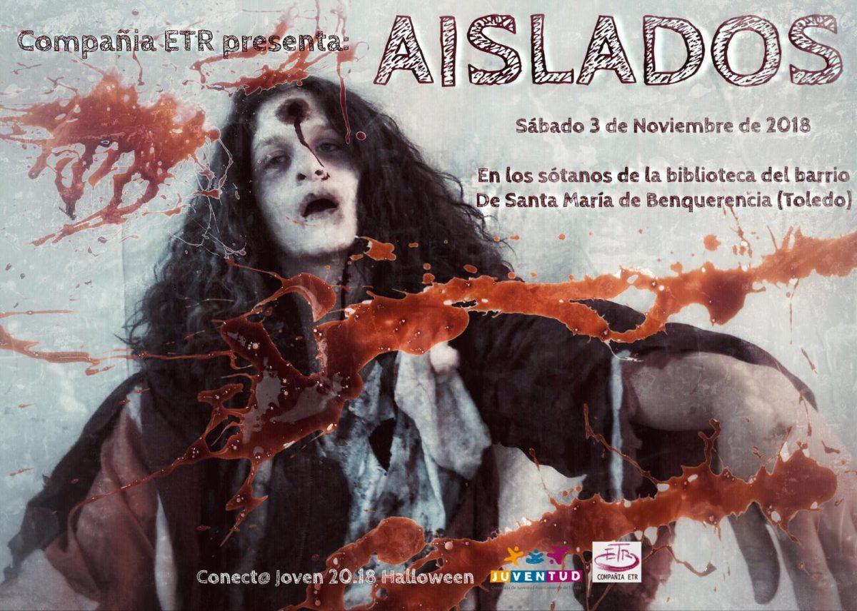 """http://www.toledo.es/wp-content/uploads/2018/10/d0b2159e-b7da-4aa2-8e4c-1b6a5c49cf99-1200x856.jpeg. Pasaje del Terror """"Aislados"""""""