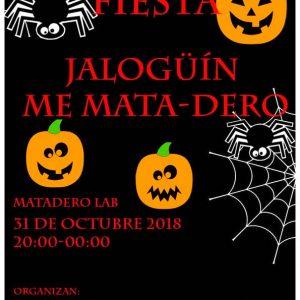 "Fiesta temática ""JALOGÜÍN ME MATA(dero)"""