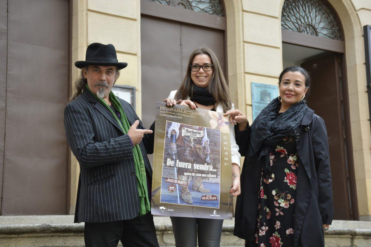 http://www.toledo.es/wp-content/uploads/2018/10/dsc0440-1200x800.jpg. El Rojas homenajeará el 19 y 20 de octubre a Moreto, en su cuarto centenario, con la obra 'De fuera vendrá quien de casa nos echará'