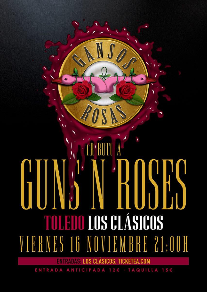 GANSOS ROSAS – TRIBUTO A GUNS AND ROSES