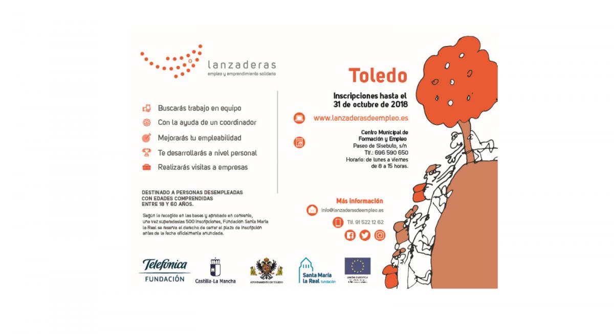 http://www.toledo.es/wp-content/uploads/2018/10/imagen-lanzaderas-empleo-y-emprendimiento-solidario-1200x653.png. Lanzaderas empleo y emprendimiento solidario