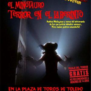"""Pasaje del Terror """"El minotauro, terror en el laberinto"""""""