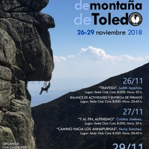 V JORNADAS DE MONTAÑA TOLEDO