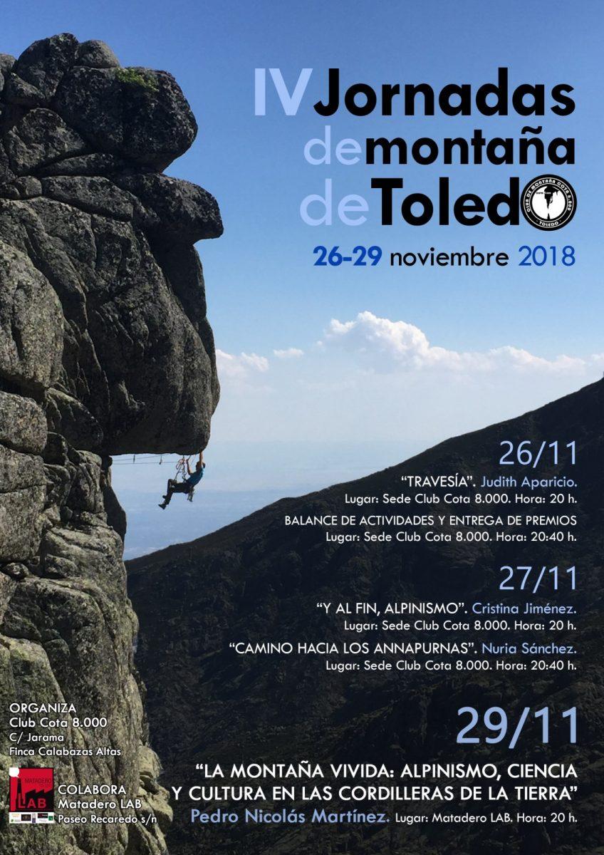http://www.toledo.es/wp-content/uploads/2018/10/jornadas-montana-toledo-26112018-848x1200.jpg. V JORNADAS DE MONTAÑA TOLEDO