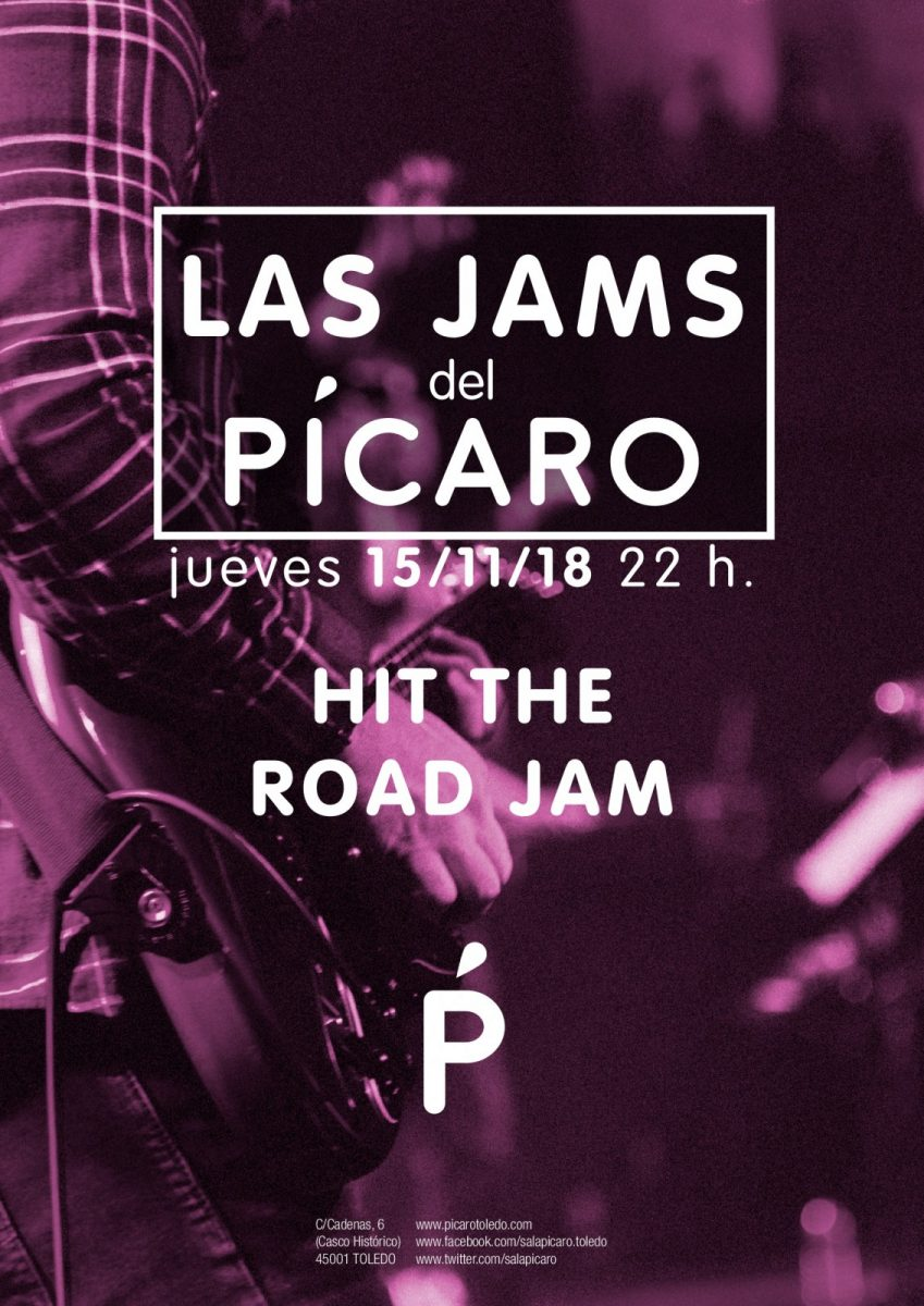 https://www.toledo.es/wp-content/uploads/2018/10/las-jams-del-picaro-15-001-849x1200.jpg. LAS JAMS DEL PICARO: HIT THE ROAD JAM