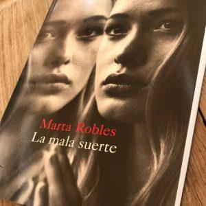 Presentación del libro: La mala suerte por Marta Robles