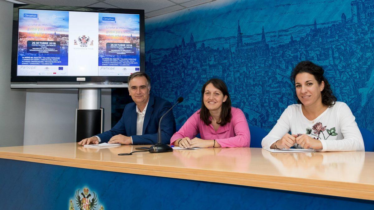 http://www.toledo.es/wp-content/uploads/2018/10/mg_5237_1-1200x675.jpg. Toledo se suma al reto 'Climathon' junto a más de 100 ciudades de 45 países en los seis continentes para estudiar el cambio climático