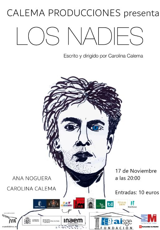 """Teatro: """"LOS NADIES"""" Cía. Calema Producciones"""