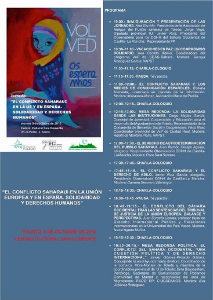 Programa Jornada Sahara