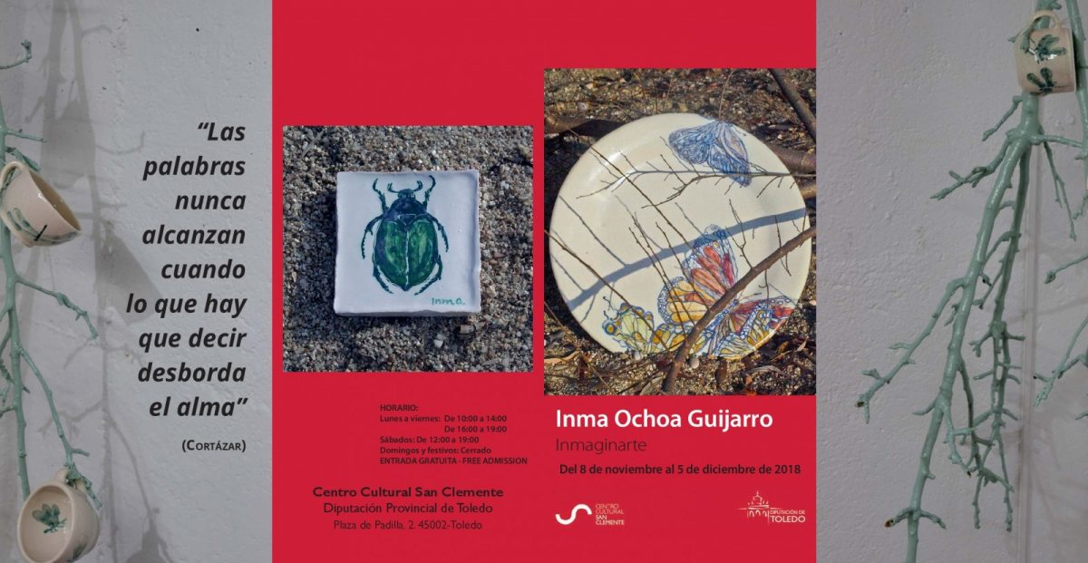 """https://www.toledo.es/wp-content/uploads/2018/10/san-clemente-1200x621.jpg. Exposición """"Inmaginarte"""", de Inma Ochoa Guijarro"""