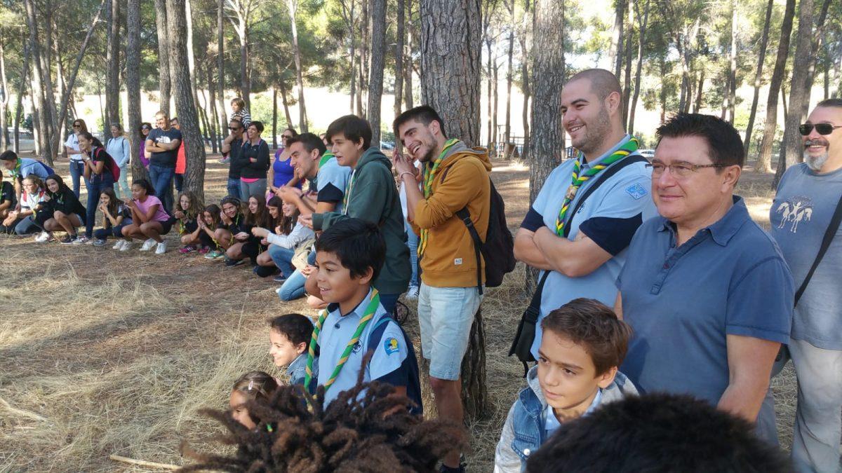 https://www.toledo.es/wp-content/uploads/2018/10/scout-1-1200x675.jpeg. El Ayuntamiento participa en la jornada de inauguración de la ronda solar de la Asociación Scout toledana Seeonee 576