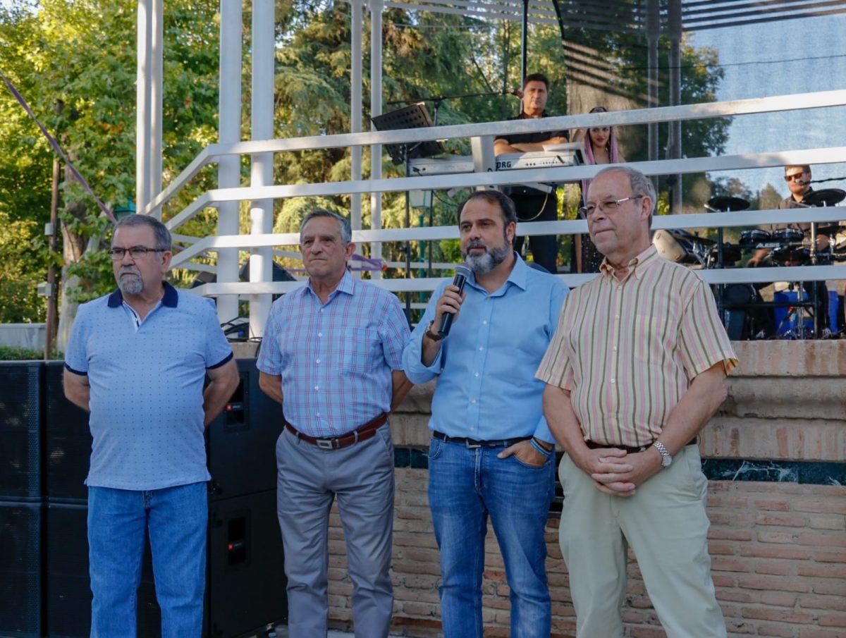 Una fiesta en el paseo Merchán pone fin a la X Semana del Mayor organizada por el Ayuntamiento para visibilizar su labor