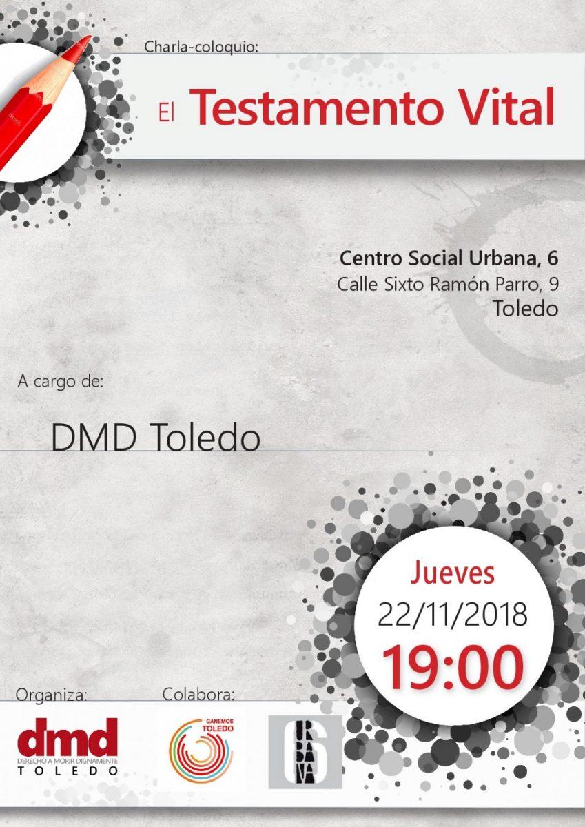 https://www.toledo.es/wp-content/uploads/2018/10/testamento-vital-001-849x1200.jpg. Charla El testamento Vital