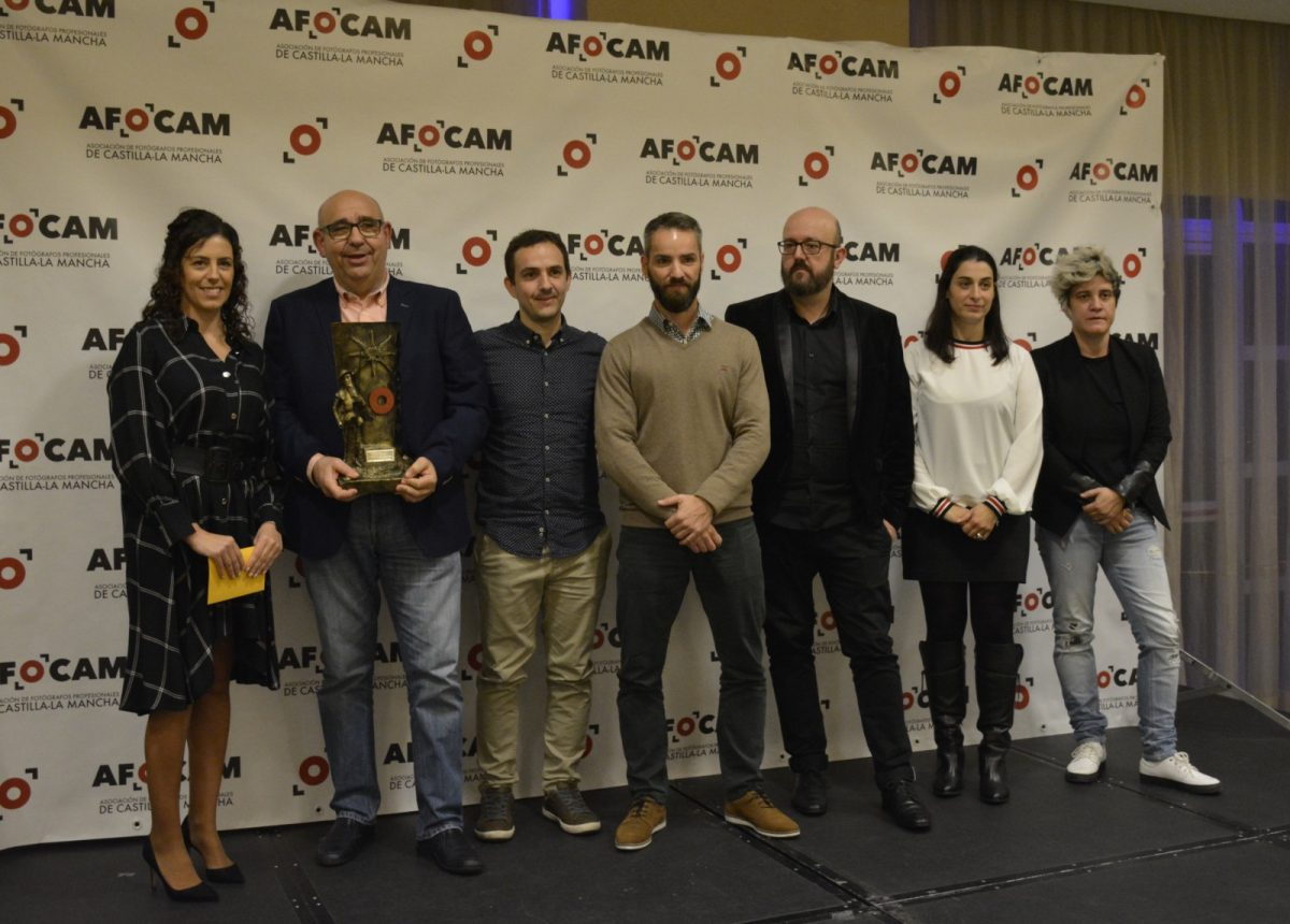 http://www.toledo.es/wp-content/uploads/2018/11/01-premios-afocam--1200x860.jpg. El Gobierno local acompaña a la asociación regional de Fotógrafos Profesionales en su entrega de premios 'Quijote 2018'